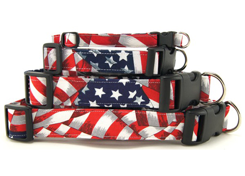 K9 Bytes Pet Collars Patriotic